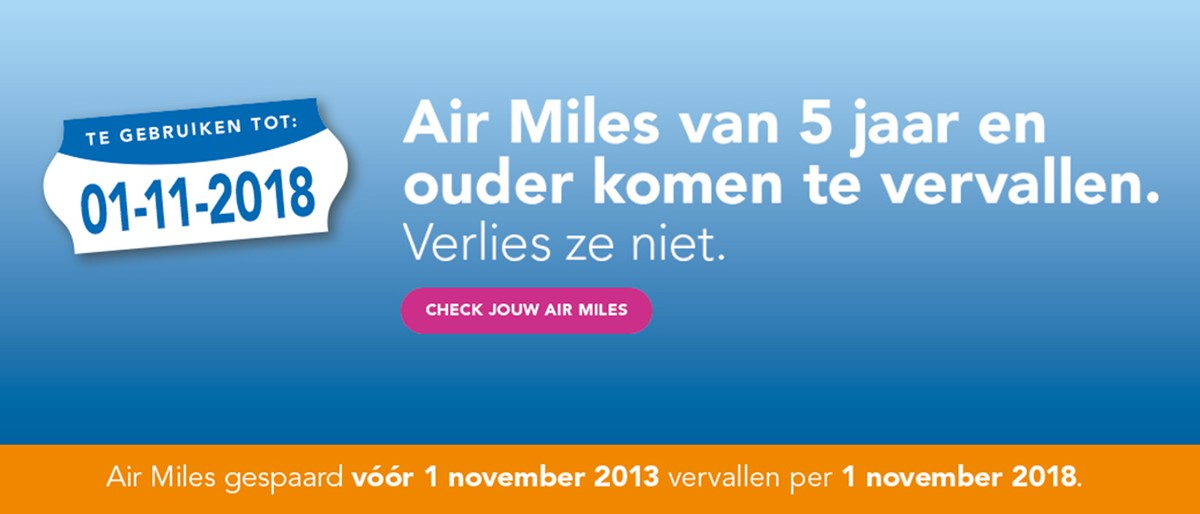 Air Miles Belangrijker Dan Spaarrente